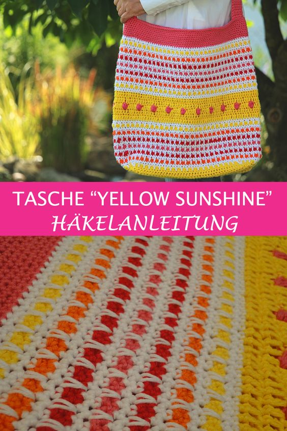 Tasche Yellow Sunshine 3